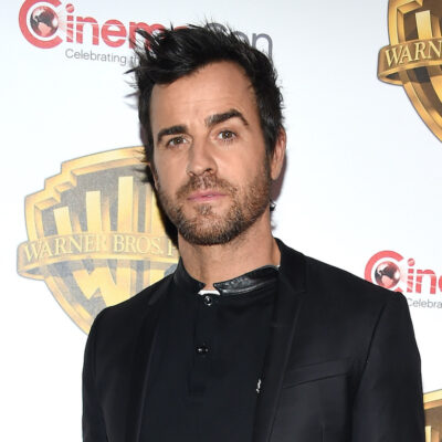 Justin Theroux on the red carpet