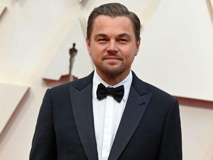 Leonardo DiCaprio in a tuxedo