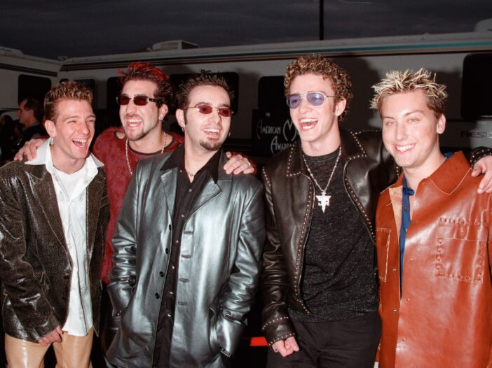 The NSYNC members in the early 2000s.