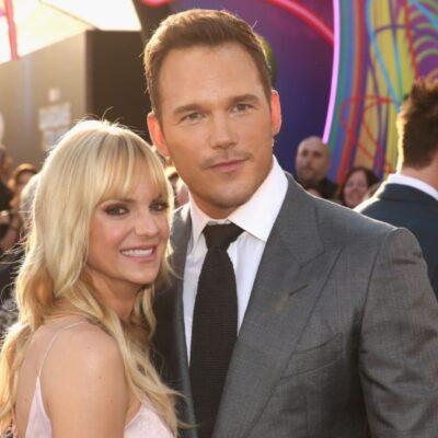 Anna Faris walks the red carpet with now ex husband Chris Pratt