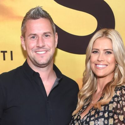Ant Anstead and his ex wife Christina Haack walk the red carpet together