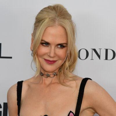 Close up of Nicole Kidman