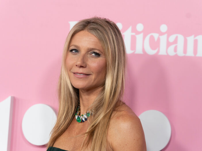 close up of Gwyneth Paltrow smiling