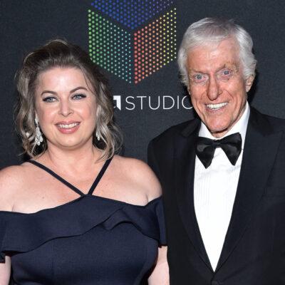 Dick Van Dyke and his wife Arlene Silver at the 2017 BAFTAs