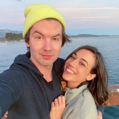 YouTube Colleen Ballinger taking a selfie with her husband, Erik Stocklin