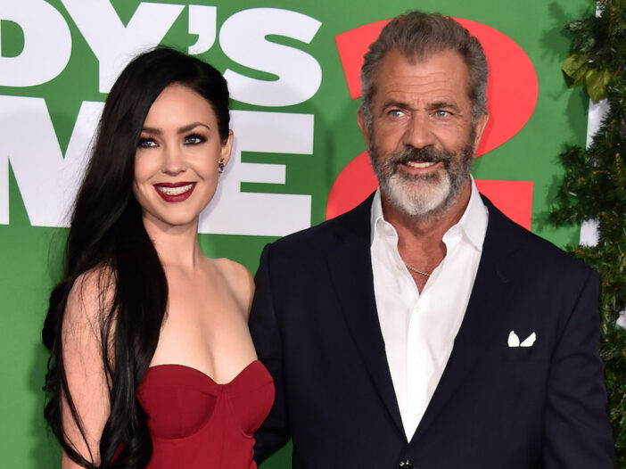 Mel Gibson in a suit