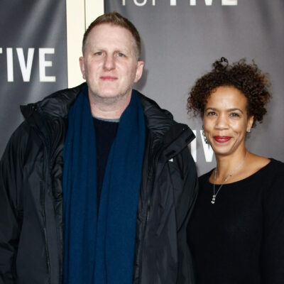 Michael Rapaport and his wife Kebe Dunn