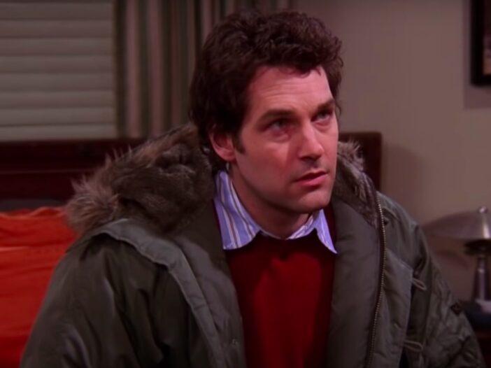 screenshot of Paul Rudd as Mike in Friends
