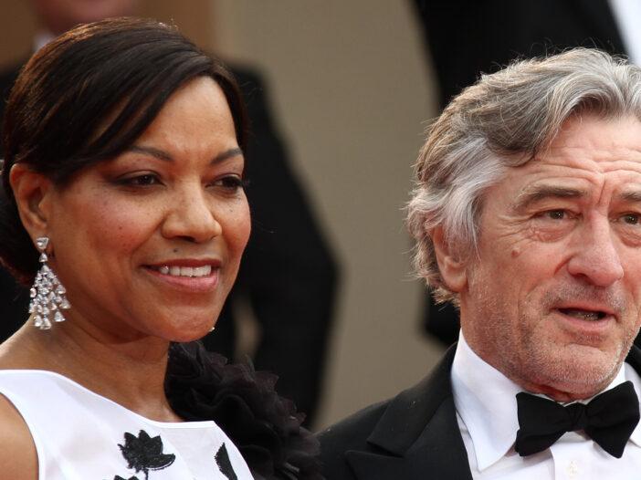 Robert De Niro on the right, Grace Hightower on the left.