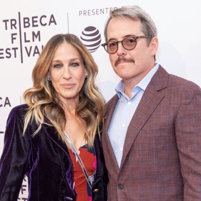Sarah Jessica Parker and Matthew Broderick together on the red carpet
