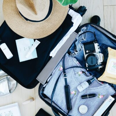 Image of packed luggage