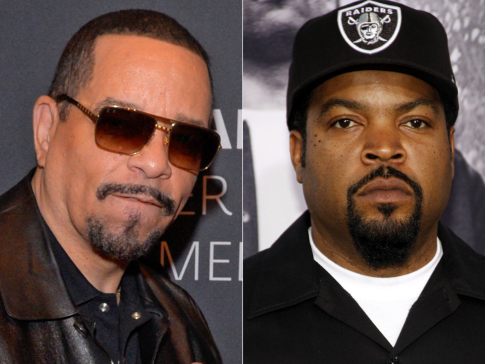 side by side of Ice-T and Ice Cube