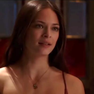 Kristin Kreuk playing Lana on 'Smallville'