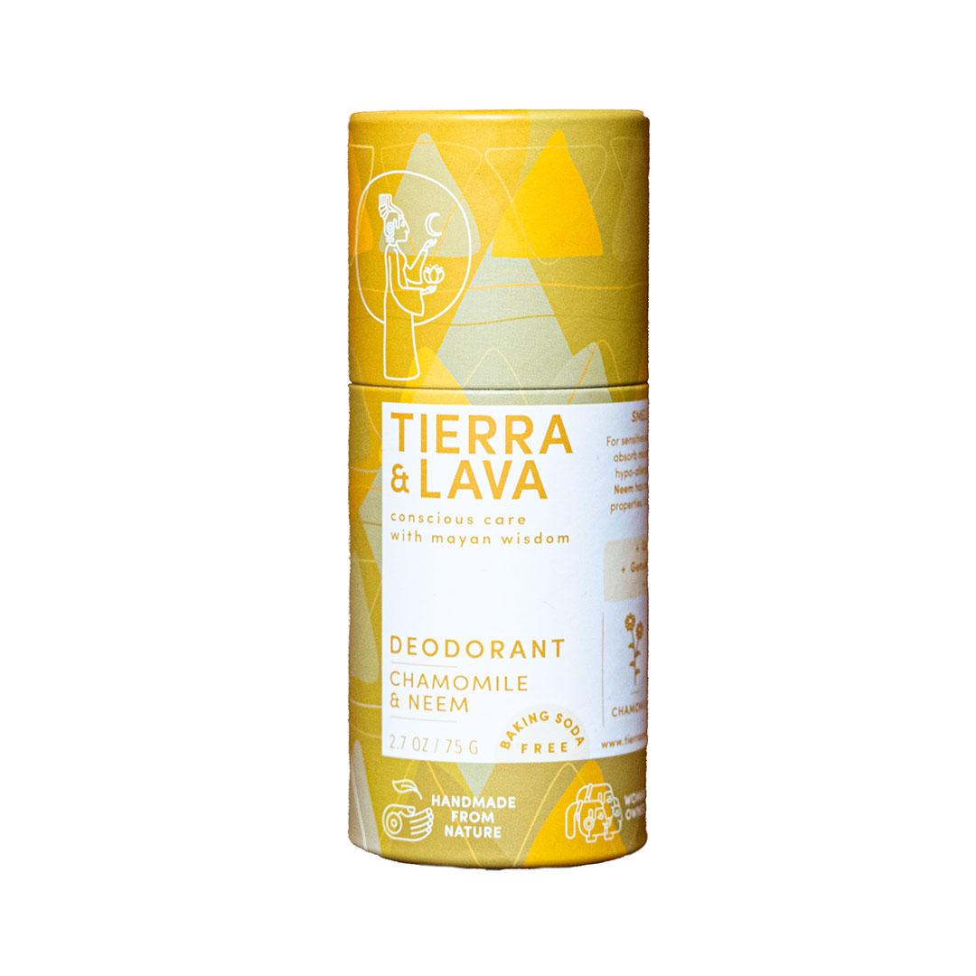 Tierra and Lava Chamomile & Neem Deodorant