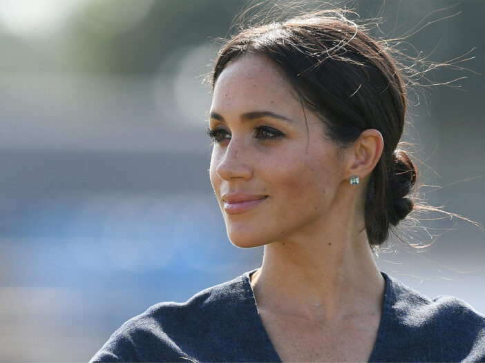 Close up of Meghan Markle, smiling