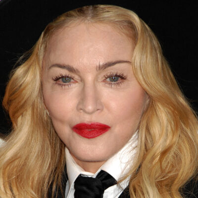 Close up of Madonna