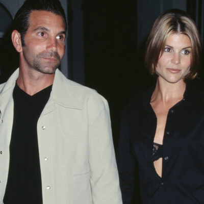 Mossimo Giannulli on the left, with Lori Loughlin