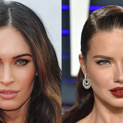(DFree/Shutterstock.com) Megan Fox and Adriana Lima at red carpet event