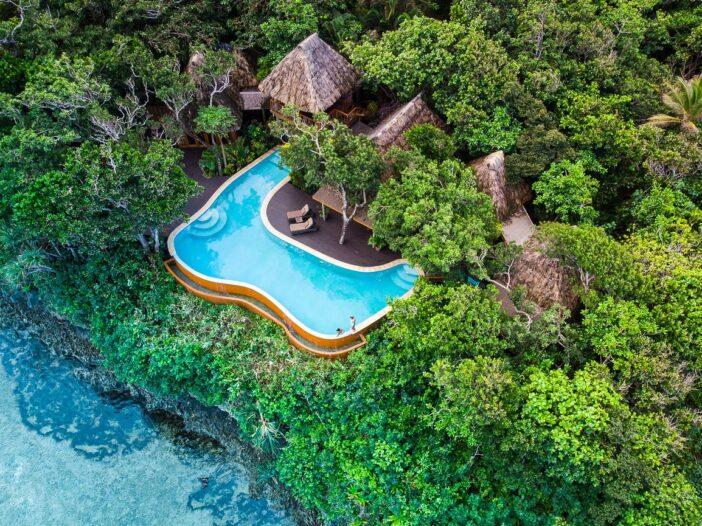 Image of private island