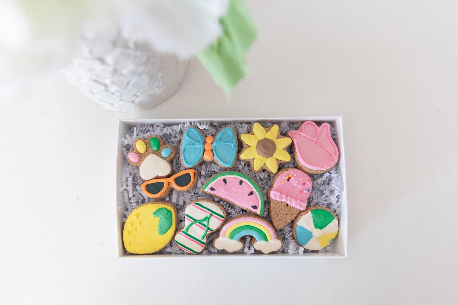 Summer Dog Cookies