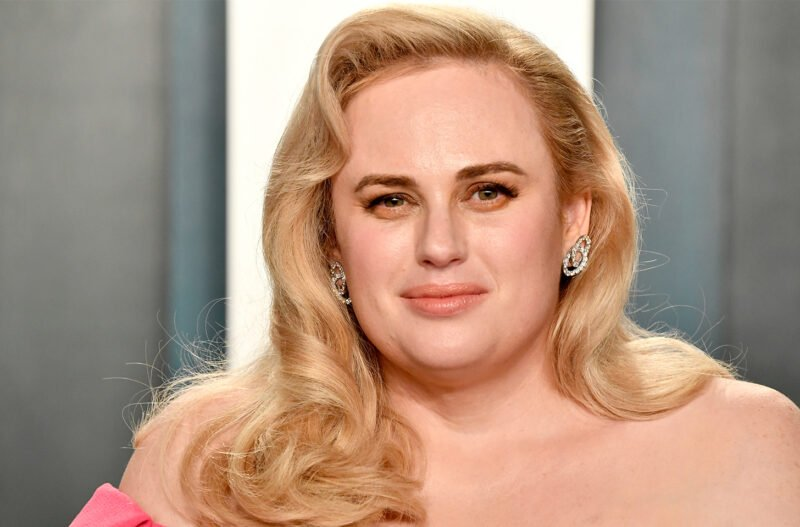 close up of Rebel Wilson before her weight loss