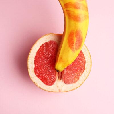 Image of grapefruit and banana