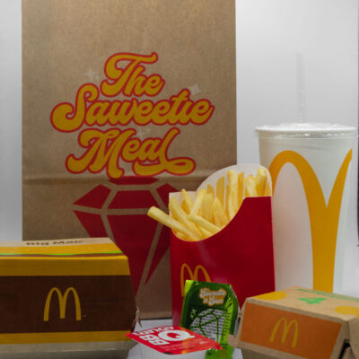 The Saweetie Meal at McDonald's