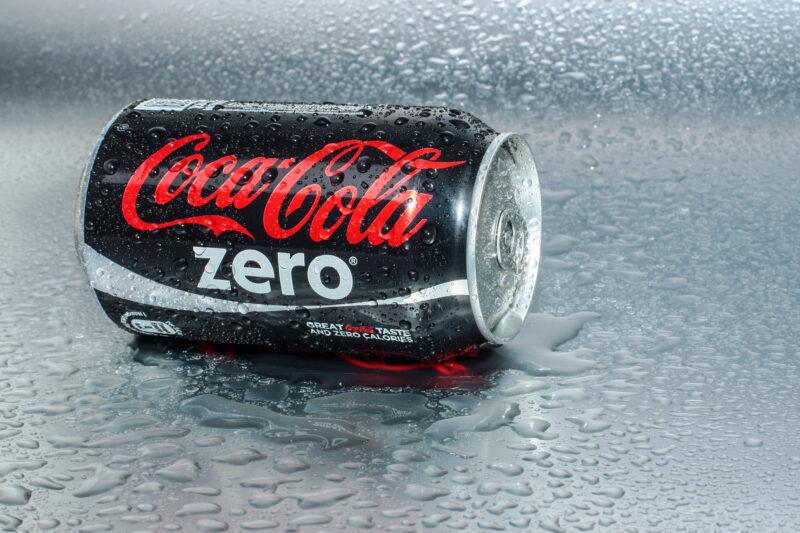 Image of Coke Zero can