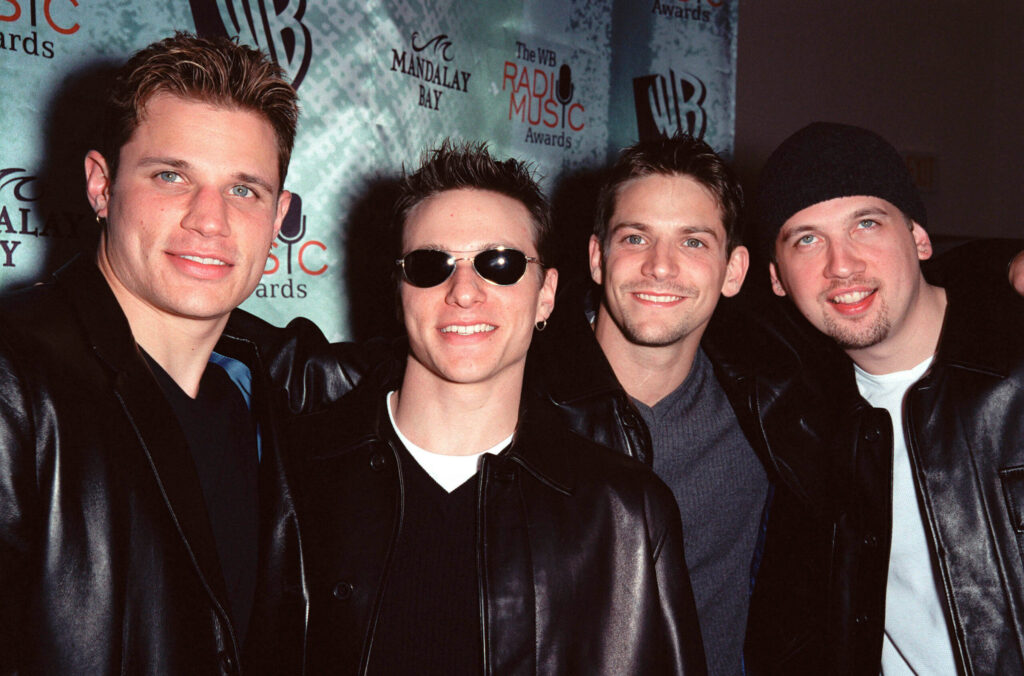 Boy band 98 Degrees in 1999