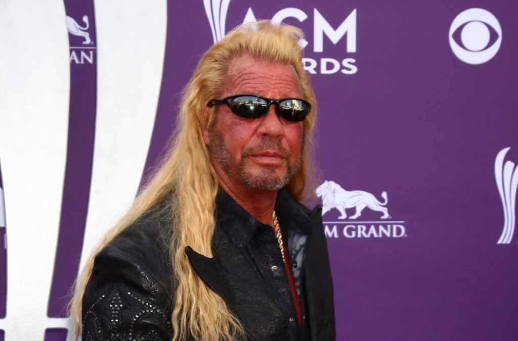 Dog The Bounty Hunter at the ACM Awards in 2013