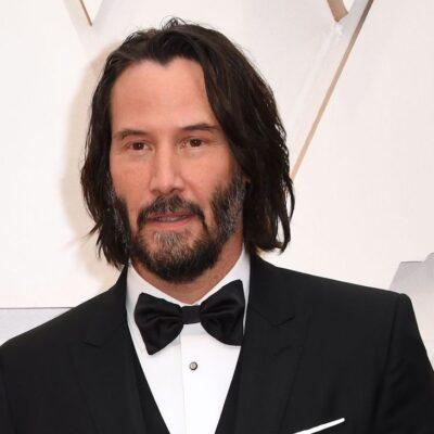Keanu Reeves in a tuxedo