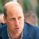 Prince William in a blue suit
