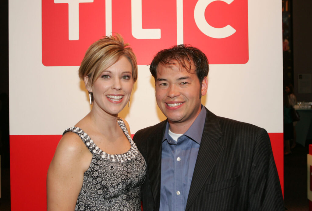 Kate and Jon Gosselin attend an event in 2008.