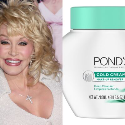 Dolly Parton and Ponds Cream