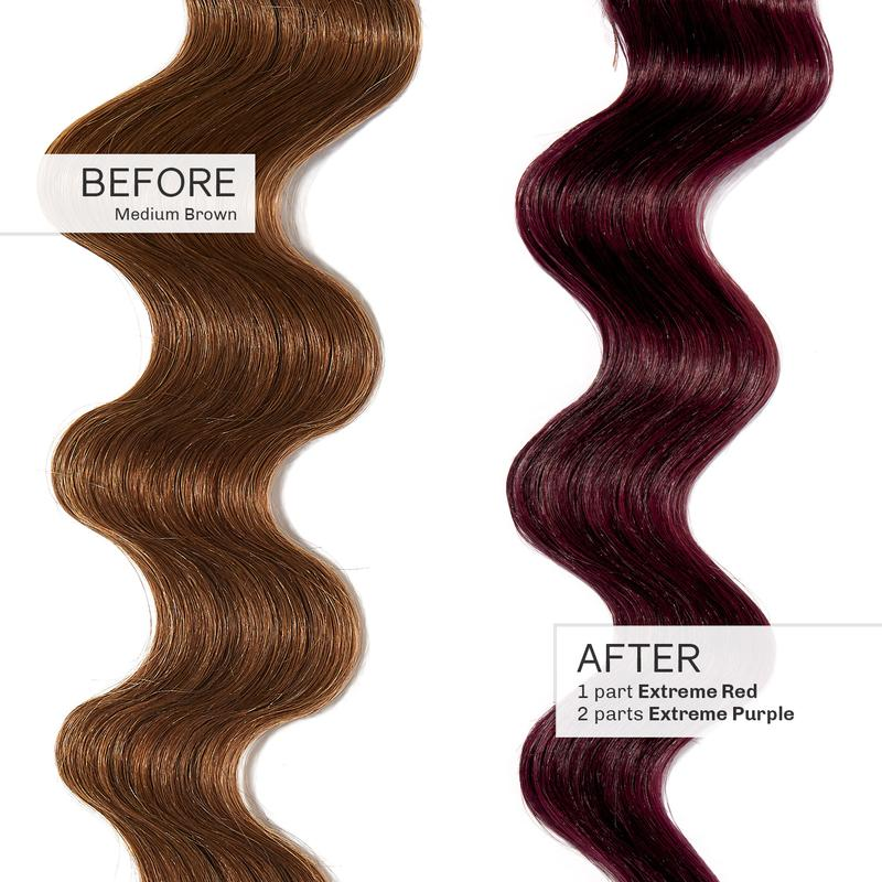Image of Overtone dyed hair