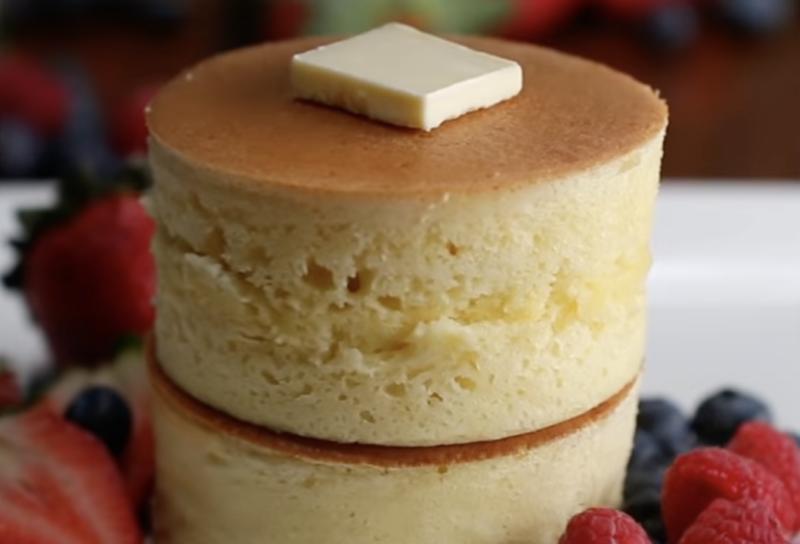 Image of fluffy pancakes