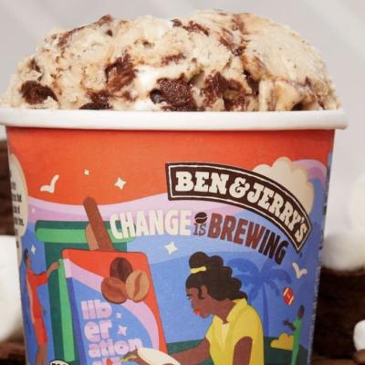 Image of Ben and Jerry's ice cream