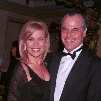 Vanna White and her ex husband George Santo Pietro in 2001