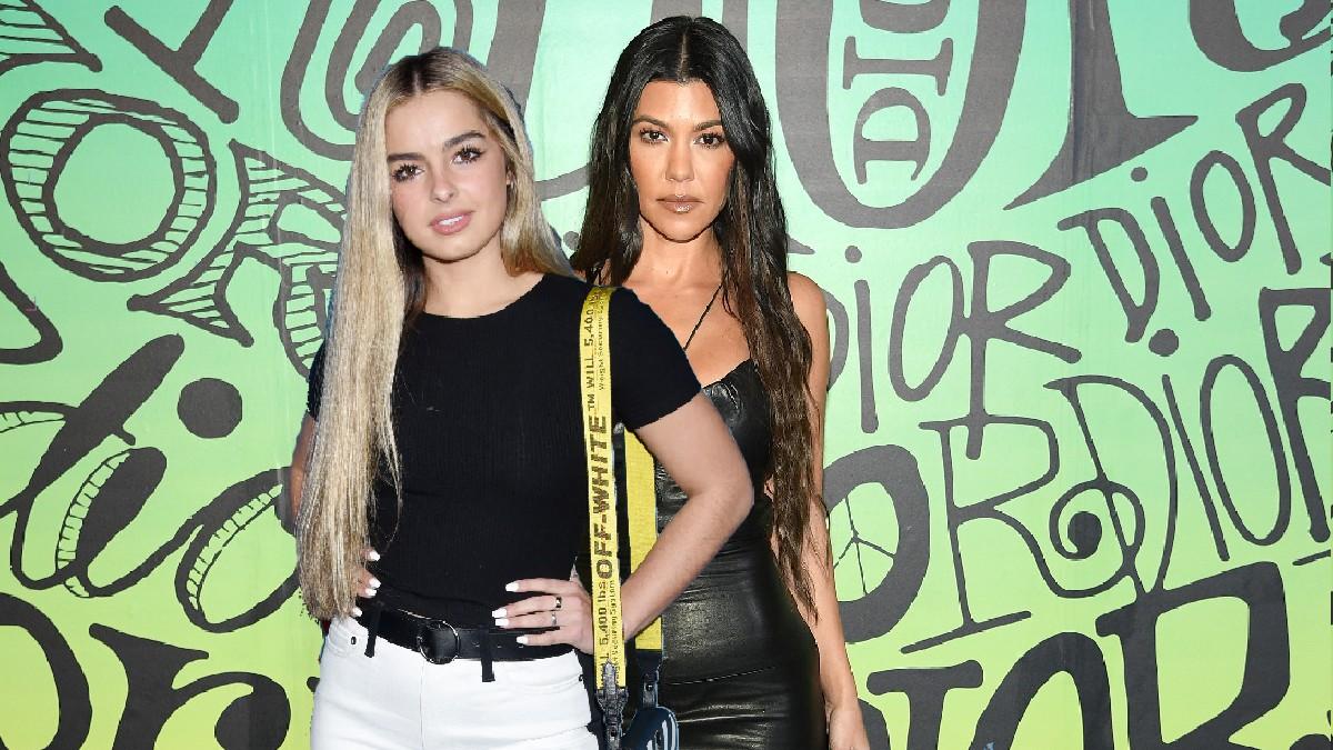 Kourtney Kardashian, Addison Rae Stun In Trendy Patterned Bikinis On The Same Day