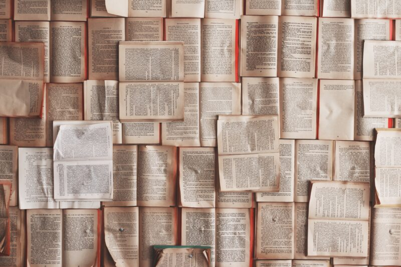 books, pages, open