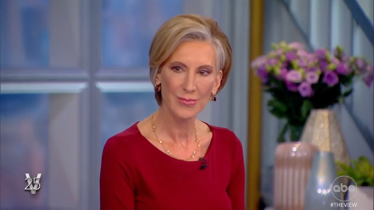'The View' Fans Divided Over Carly Fiorina's Republican Party Comments