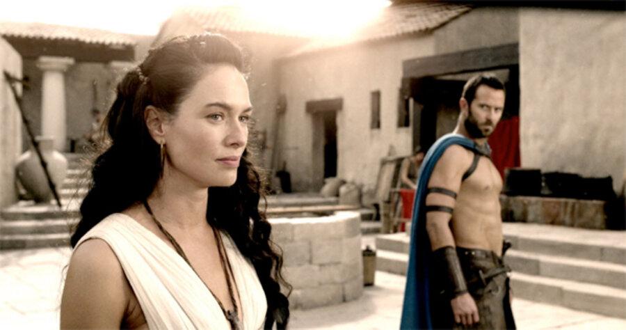 Lena Headey as Gorgo in 300: Rise of an Empire