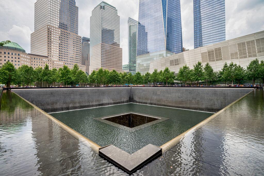Image of 9/11 memorial