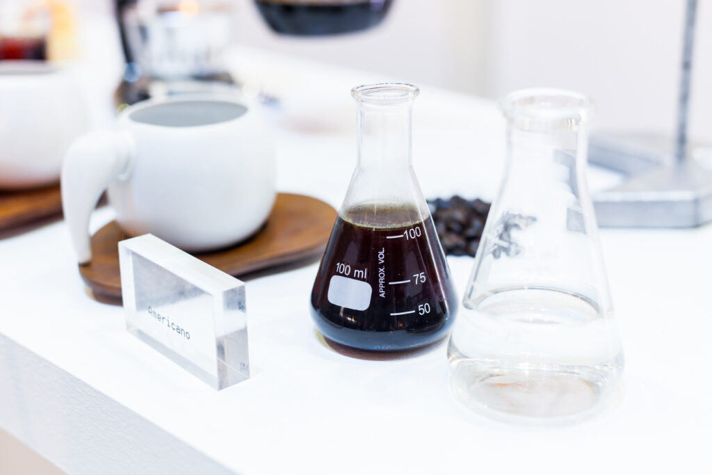 Image of coffee in lab