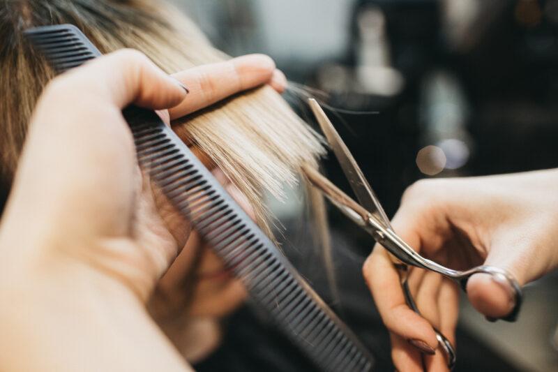 Image of haircut.