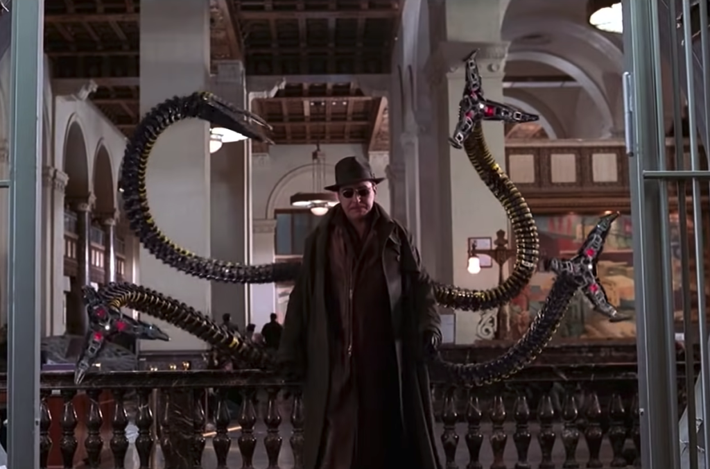 Alfred Molina as 'Doctor Octopus' in Spider-Man 2