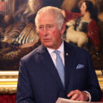 Prince Charles in a blue suit