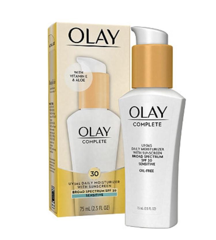Olay Complete Daily Defense Moisturizer, 2 Pack