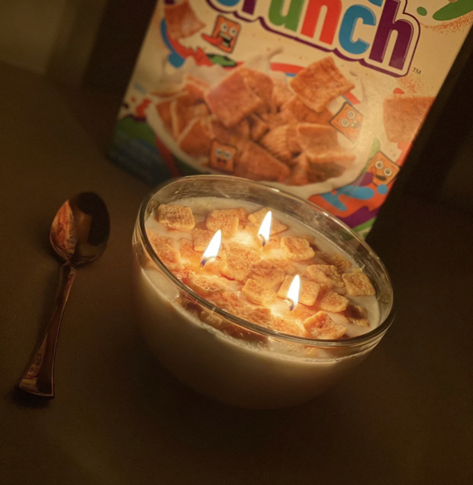Cinnamon Toast Crunch Cereal Candle
