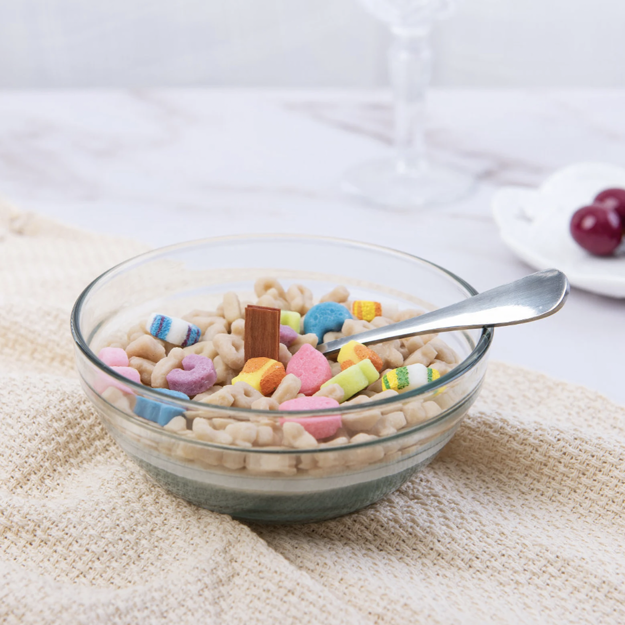Lucky Charms Cereal Bowl Candle